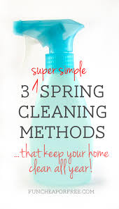 Home Clean by 3 Spring Cleaning Tricks That Keep Your Home Clean All Year
