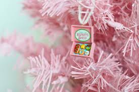 the joy of fashion christmas diy pink christmas tree