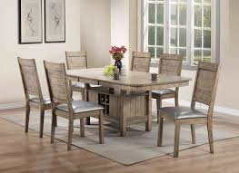 Rustic Leather Dining Chairs by Ramona 72000 Dining Table In Rustic Oak By Acme W Options