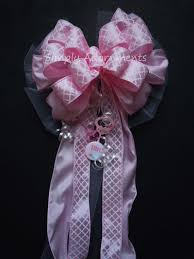 baby shower ribbon it s a girl pink bow girl baby shower decoration pink gift