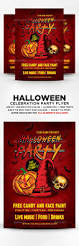 Free Scary Halloween Invitation Templates by Spooky Halloween Flyer Template Blood Club Cocktail Costume