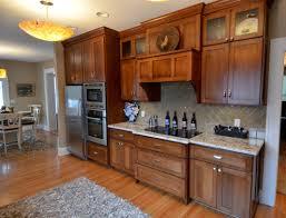 cinnamon shaker kitchen cabinets birch shaker kitchen cabinets mf cabinets