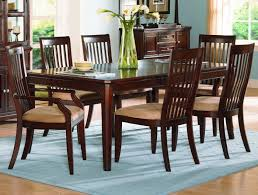 Dining Room Accent Furniture Dining Room Cherry Dining Room Set Wooden Style Classic