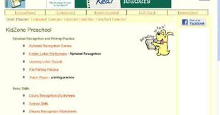 kidzone tracer pages scissor practice and color recognition etc
