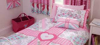 pink ditsy union jack bedlinen collection dunelm mill girls
