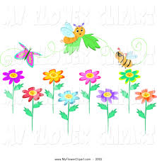 royalty free butterfly stock flower designs
