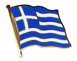 Greece Flag Colors Greece Flag Pin Badge 1 X 1 Inch Best Buy Flags Co Uk