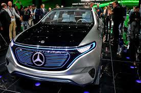 mercedes benx mercedes reveals electric generation eq concept suv