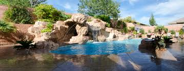 Lagoon Swimming Pool Designs by Swimming Pool Grotto Arizona Swimming Pool And Grotto Designed By