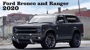 prerunner ranger raptor news 2020 ford bronco and ranger coming back youtube