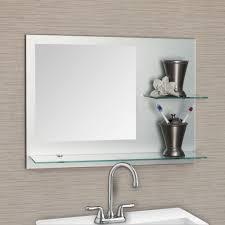 bathroom mirrors frameless frameless beveled mirror for bathroom new home design