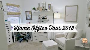 my home furniture and decor my home office tour for 2018 new paint decor more neutral