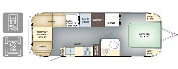 Floorplan Tommy Bahama Travel Trailer Airstream Special Floor Plans