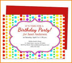 10 birthday party invitation templates artist resume