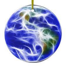 planet earth ornaments keepsake ornaments zazzle