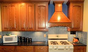 orange and blue combination kitchen interior kitchen furniture chic blue and white color