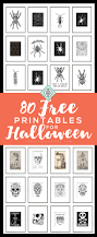 last minute decor halloween free printables vol 3 u2022 little gold