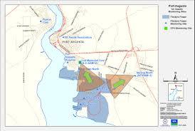 Wind Direction Map Port Augusta Power Stations Site Flinders Power Epa