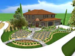 plants design landscape exciting gree and gray half circle modern