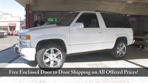 1995 for sale 1995 tahoe 4x4 for sale with test drive driving sounds and walk