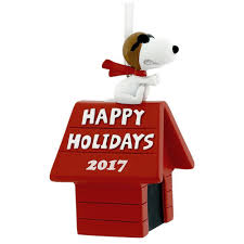 2017 hallmark tree ornament snoopy flying ace peanuts