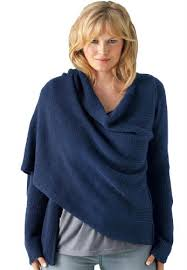 for sale taillissime plus size wrap sweater midnight navy 3x
