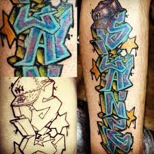 graffiti tattoo i rocked on my dude slaneone holla graf u2026 flickr