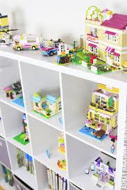 Lego friends storage ideas Play room and kids room organization