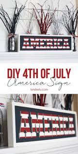 4th of july decorations to show your patriotism landeelu com if you can paint and glue stuff then you can make this diy independence day