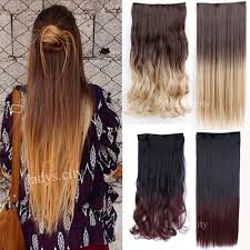Long Synthetic Hair Extensions by Aliexpress Com Buy 25