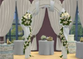 wedding arches sims 3 my sims 4 wedding arches wine bottles beds and more by the