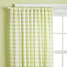 Green Curtains For Nursery Curtains Light Green Lattice Print Curtain Panels In