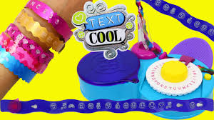 text cool bracelet maker jewelry crafts u0026 fun label maker toy