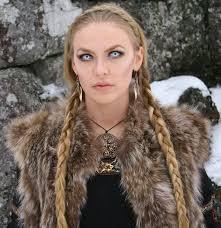 viking anglo saxon hairstyles lily has nordic features face shape and skin color would resemble