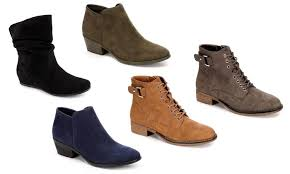 womens xappeal boots xappeal s ankle booties groupon