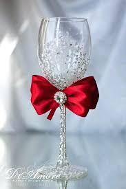 wine glasses for wedding wedding wine glass decorating ideas wedding favors wine glass