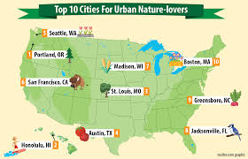Madison Valley Seattle Map by America U0027s Top 10 Green Cities For Nature Lovers Ross Nw Real Estate