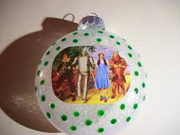 single ornaments wizard of oz inspired