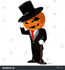 chalkboard halloween cat clear background pumpkin black tuxedo on transparent background stock vector
