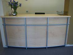 podium style reception desk arcreceptiondesk 2 podium style reception desk salon decor