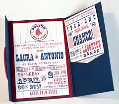 baseball themed wedding invitations sox baseball inspired