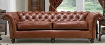Leather Chesterfield Style Sofa Astonishing Chair Design About Style Leather Sofas Interesting
