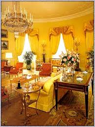 White House Interior Pictures Yellow Oval Room Wikipedia