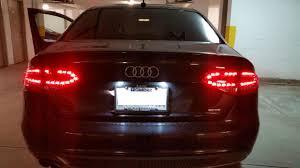 audi a4 tail lights audi a4 s4 b8 tail lights set