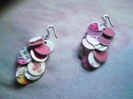 earrings paper diy recycled paper jewelry ideas recycled things