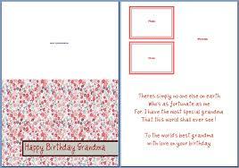 happy birthday cards best word birthday card format for word oloschurchtp