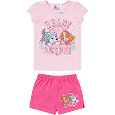 babies r us thanksgiving paw patrol girls short pyjamas big w