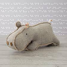 hip hippo stuffed animal the land of nod