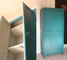armoire vintage chambre armoire parisienne chambre enfant vintage bleue ées 50 trendy