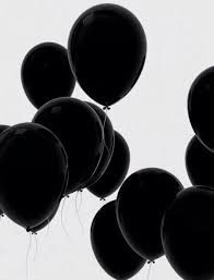 black balloons best 25 black balloons ideas on black gold silver